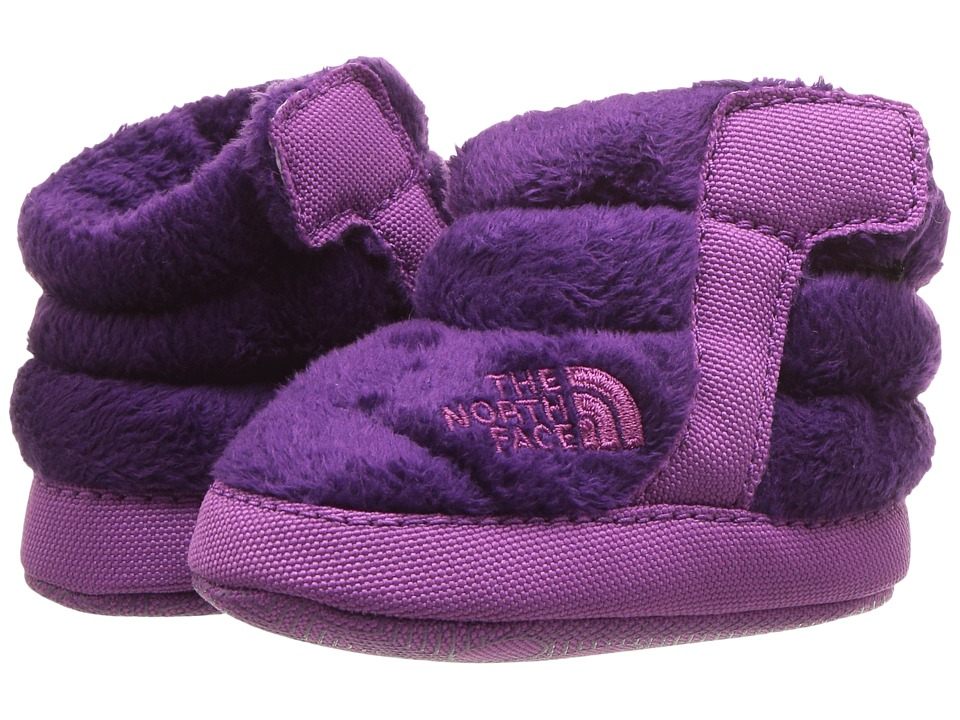 The North Face Kids NSE Fleece Bootie (Infant/Toddler) (Wood Violet/Wisteria Purple) Girls Shoes