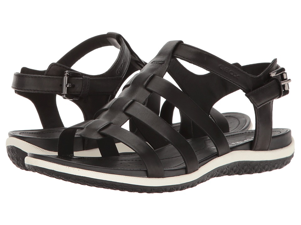 Geox - W SANDAL VEGA 11 (Black) Women's Sandals