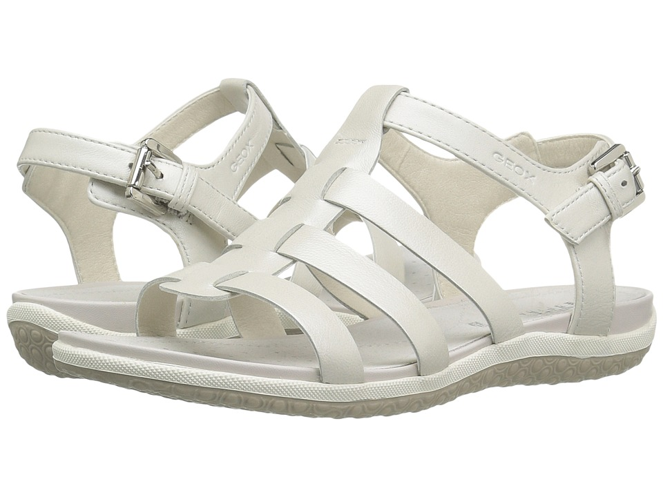 Geox - W SANDAL VEGA 10 (White) Women's Sandals