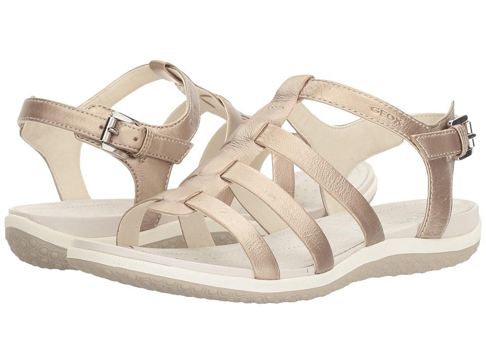 Geox - W SANDAL VEGA 10 (Champagne) Women's Sandals