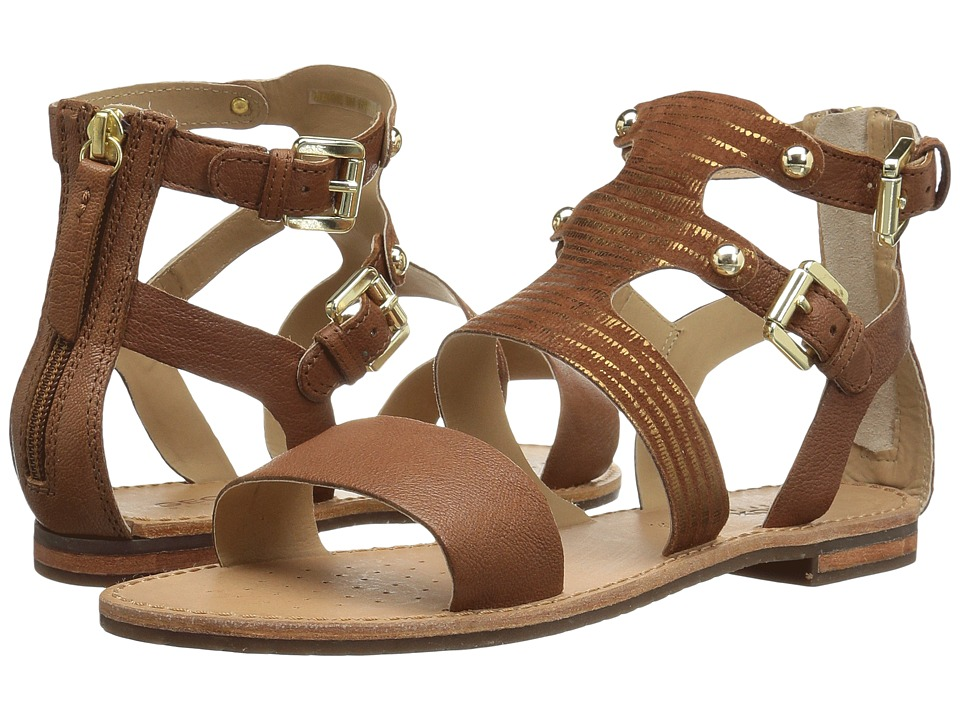Geox - W SOZY 18 (Brown) Women's Sandals