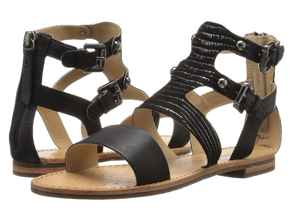 Geox - W SOZY 18 (Black) Women's Sandals