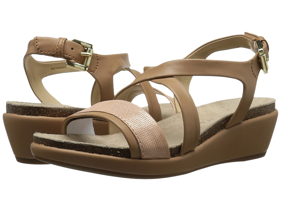 Geox - W ABBIE 5 (Dark Skin/Rose Gold) Women's Sandals