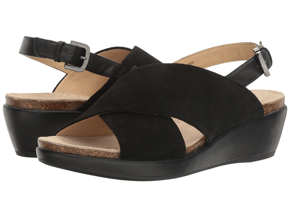 Geox - W ABBIE 6 (Black) Women's Sandals