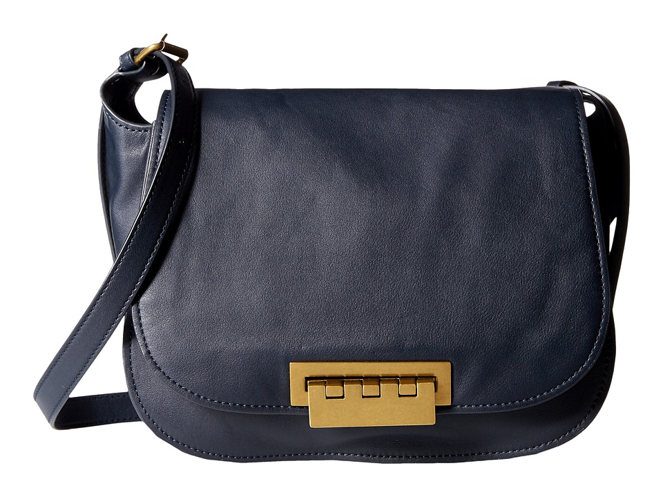 ZAC Zac Posen - Eartha Iconic Saddle (Admiral) Cross Body Handbags