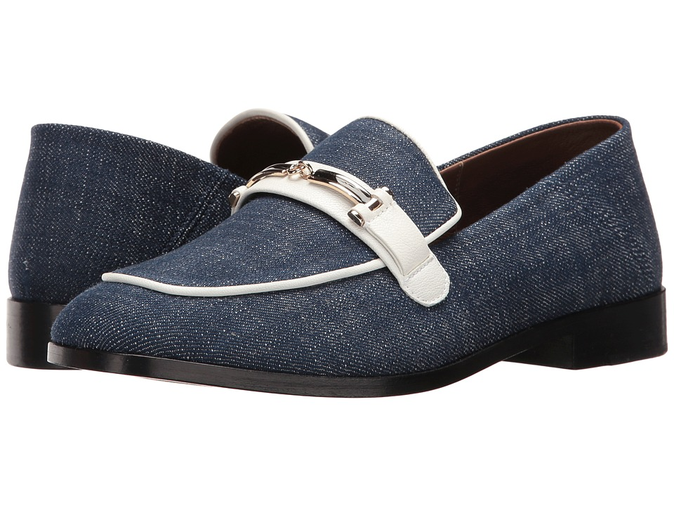 NewbarK - Melanie w/ Hardware (Indigo/Denim) Women's Shoes