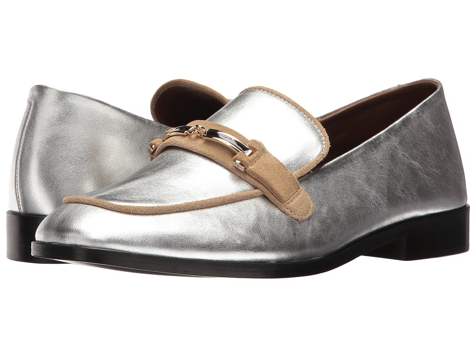 NewbarK - Melanie w/ Hardware (Metallic Silver) Women's Shoes