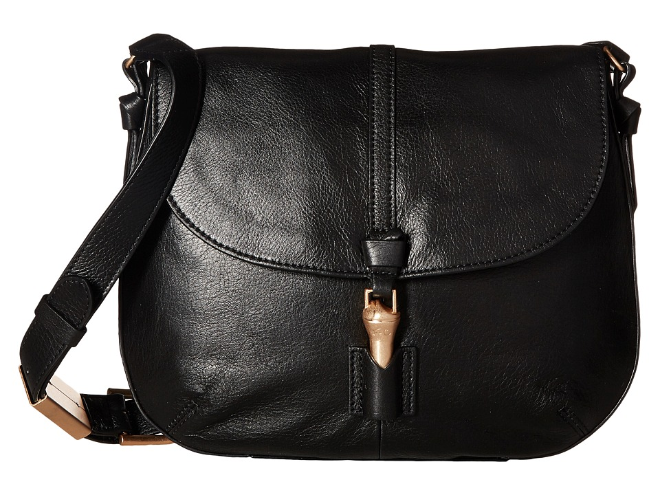 Foley & Corinna - Mia Saddle Bag (Black) Bags