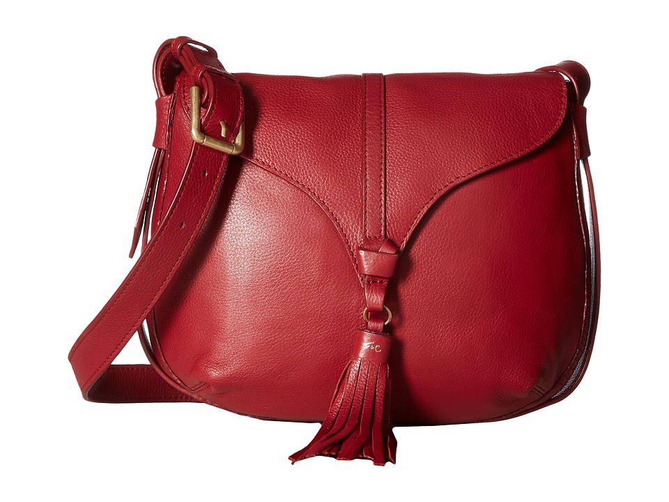 Foley & Corinna - Arrow Saddle Bag (Ruby) Bags