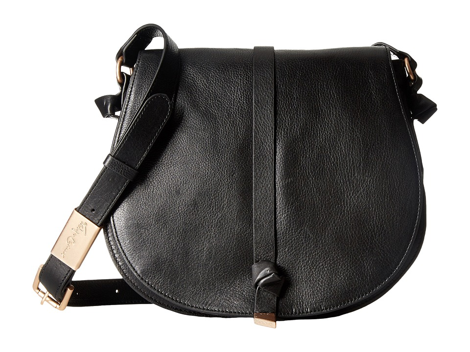 Foley & Corinna - Daisy Patchwork Saddle Bag (Black) Bags