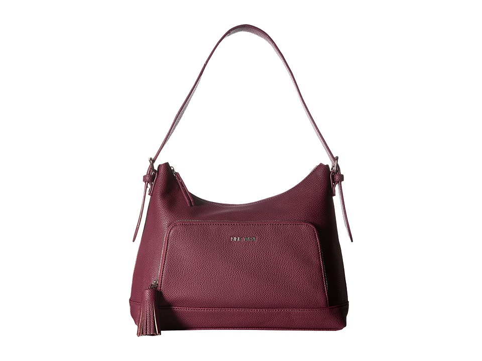 Nine West - Chic and Simple (Plum Raisin) Handbags