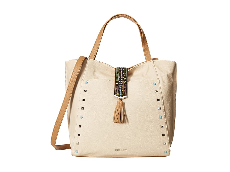 Nine West - Casual Tassel (Toasted Oat/Dark Camel) Handbags