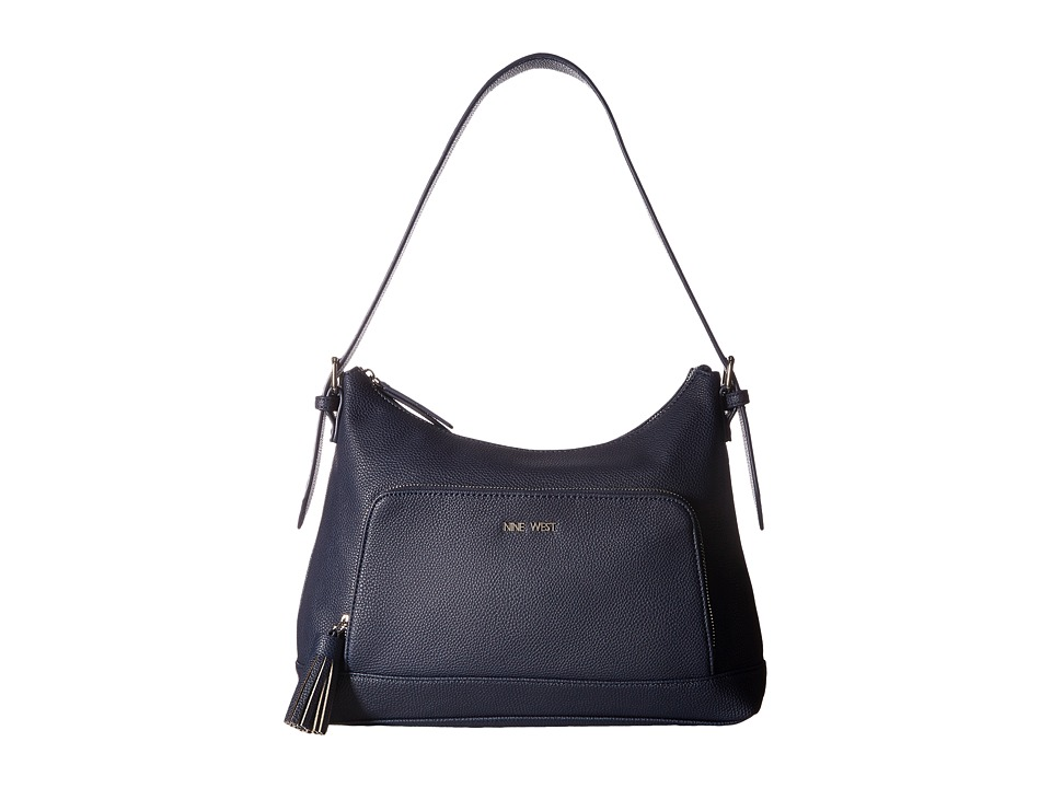Nine West - Chic and Simple (Moody Blue) Handbags