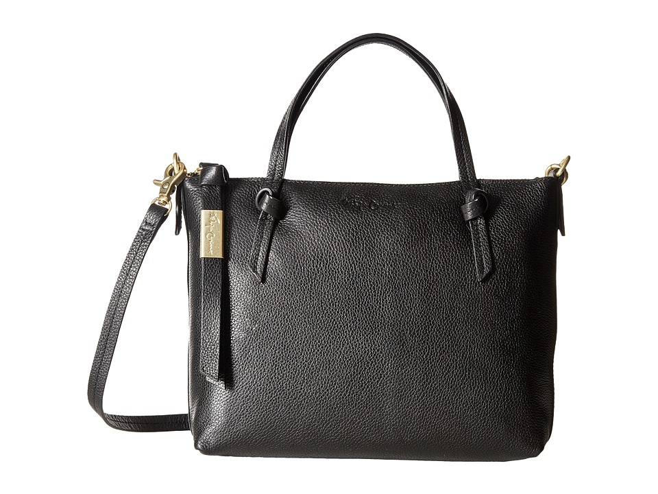 Foley & Corinna - Emerald Satchel (Jet Black) Satchel Handbags