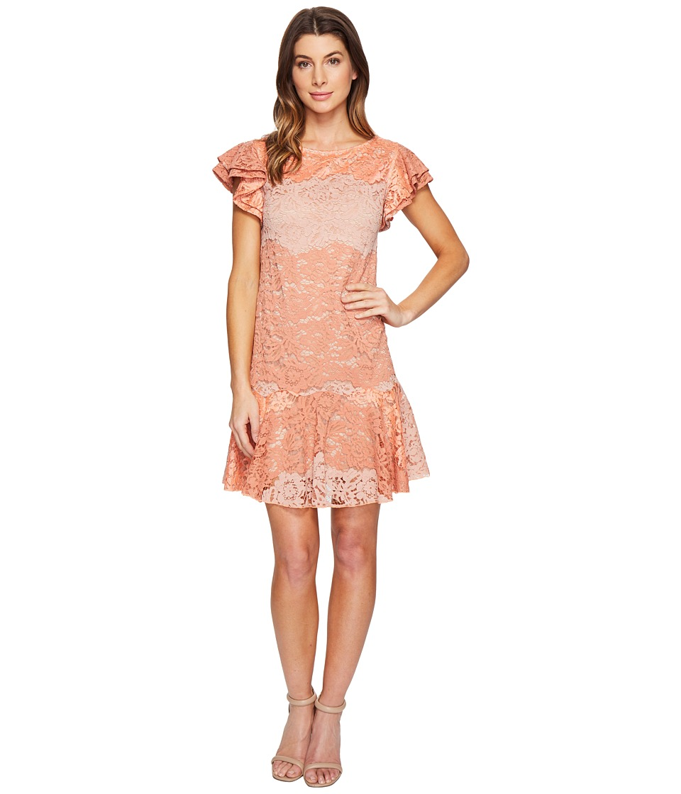 Eva by Eva Franco - Lotus Dress (Coral Clay) Women's Dress