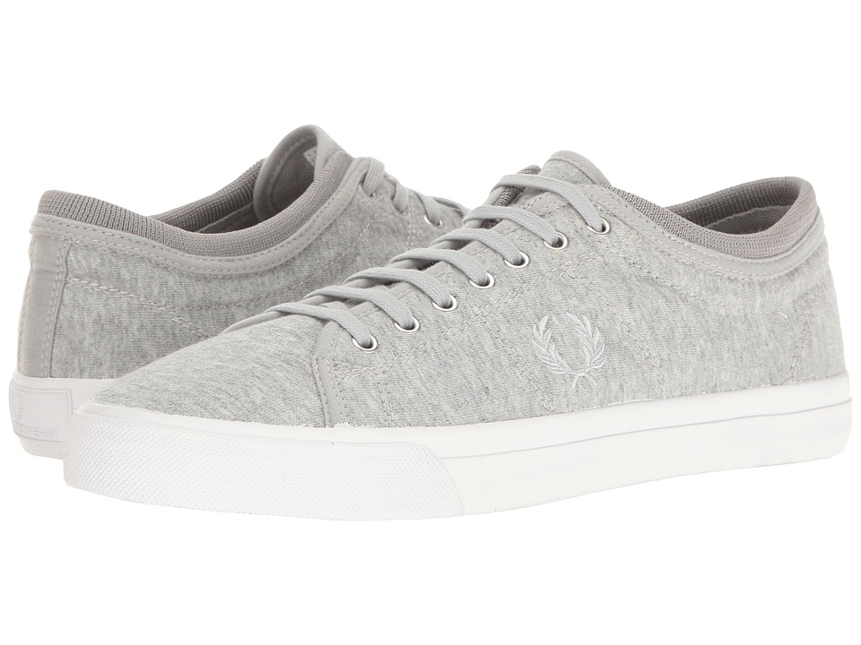 Fred Perry - Kendrick Tipped Cuff Jersey (Dolphin/White) Men's Shoes