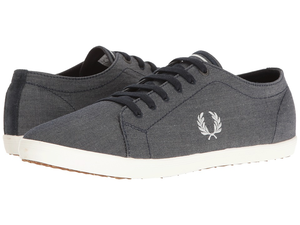 Fred Perry - Kingston Chambray (Navy/Dolphin) Men's Shoes