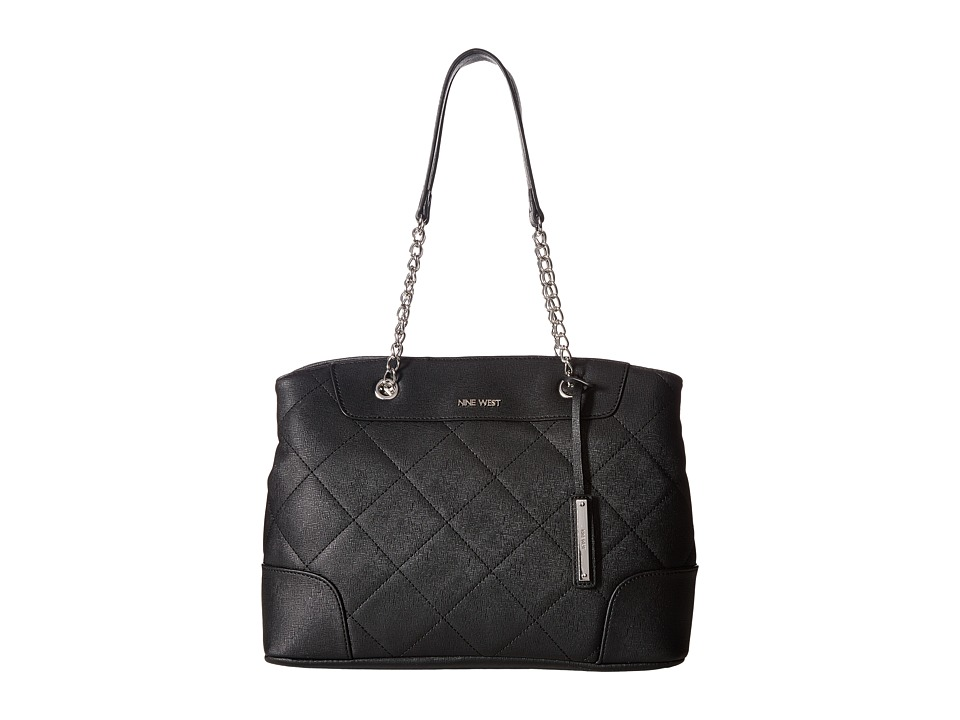 Nine West - Glam Lock (Black) Handbags