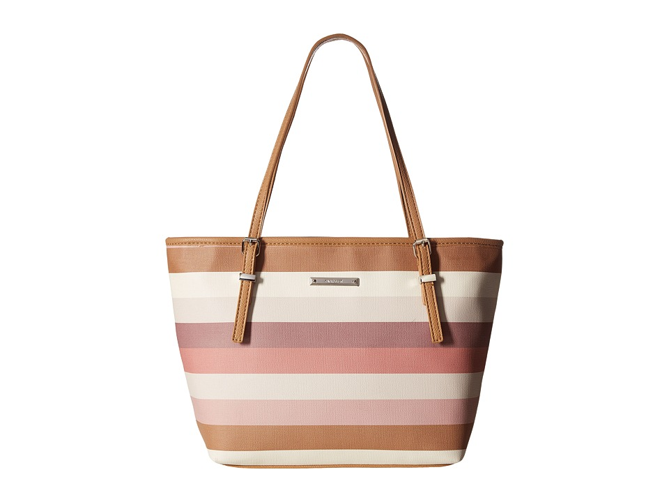 Nine West - It Girl (Petal Blush Multi/Dark Camel) Tote Handbags