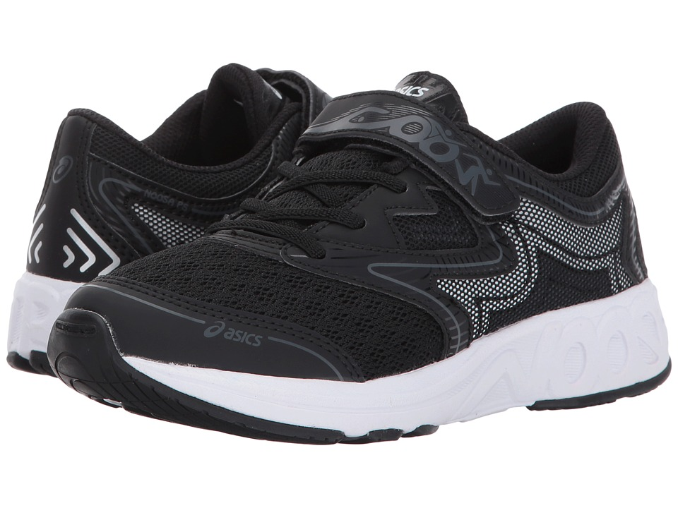 ASICS Kids - Noosa PS (Toddler/Little Kid) (Black/Carbon/Mid Grey) Boys Shoes