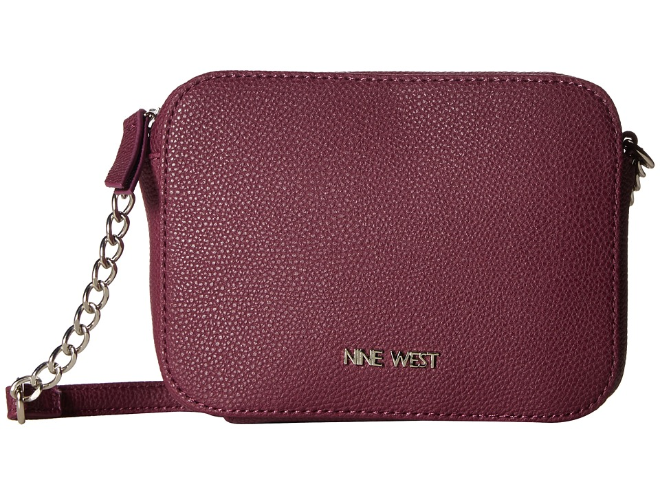 Nine West - Lucky Treasure Small Crossbody (Plum Raisin) Handbags