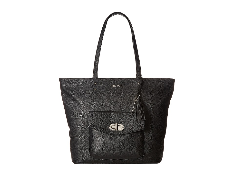 Nine West - Office Pursuit (Black) Handbags