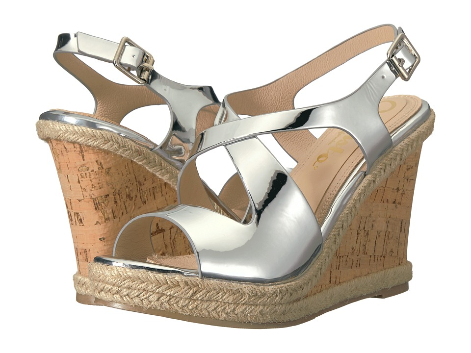 Callisto of California - Brielle (Silver) Women's Shoes