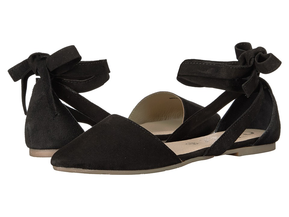 Callisto of California Anneka (Black Suede) Women