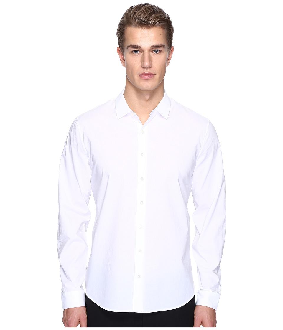 ATM Anthony Thomas Melillo - Classic Dress Shirt (White) Men's Long Sleeve Button Up