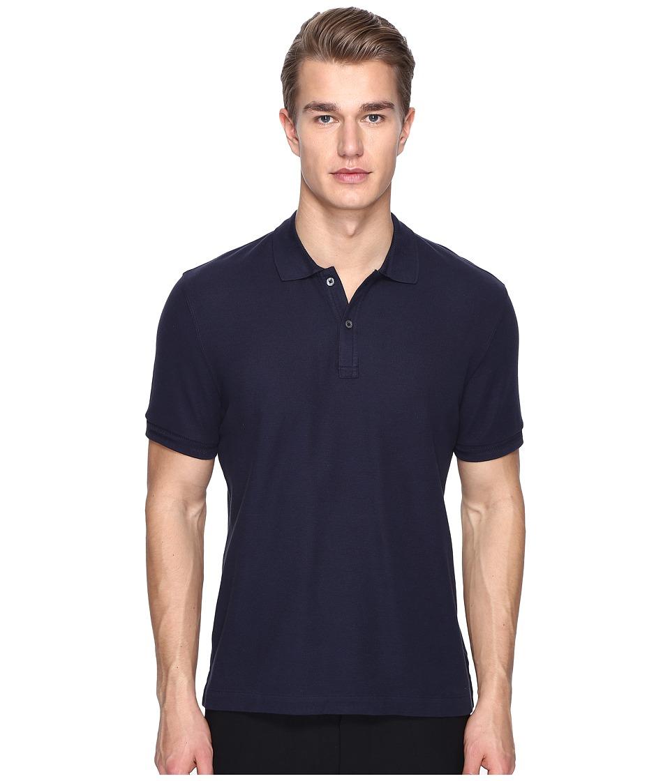 ATM Anthony Thomas Melillo - Classic Pique Polo (Midnight) Men's Short Sleeve Pullover