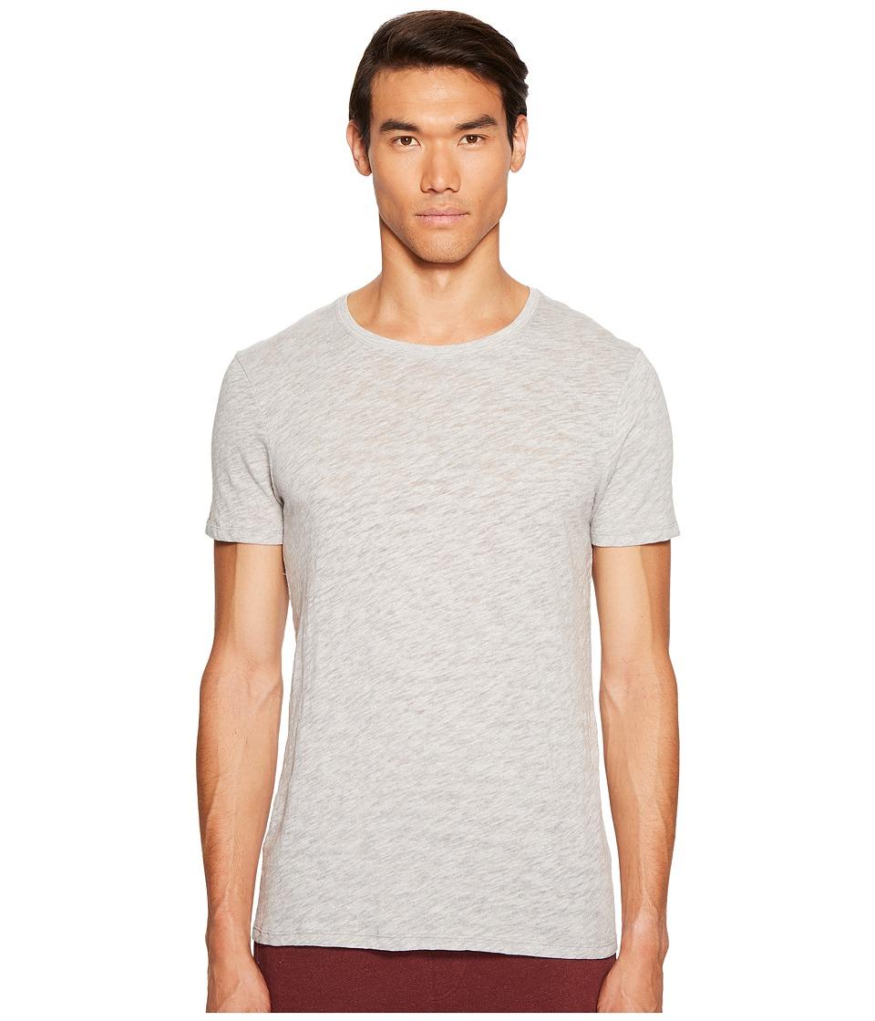 ATM Anthony Thomas Melillo - Short Sleeve Crew Tee (Heather Grey) Men's T Shirt