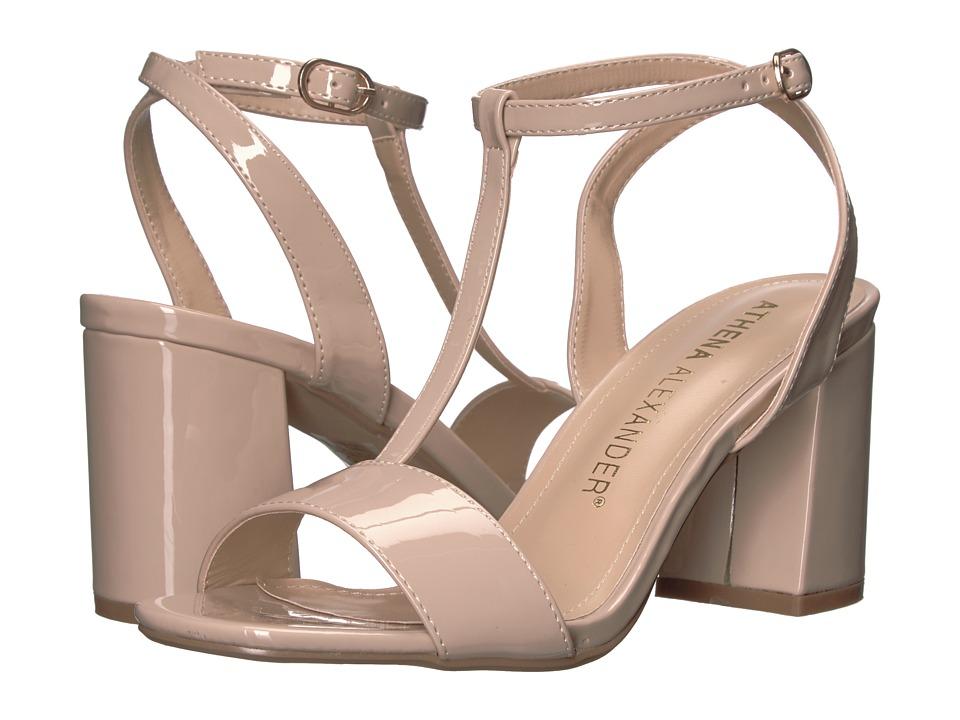 Athena Alexander - Ditaa (Nude Patent) Women's Shoes