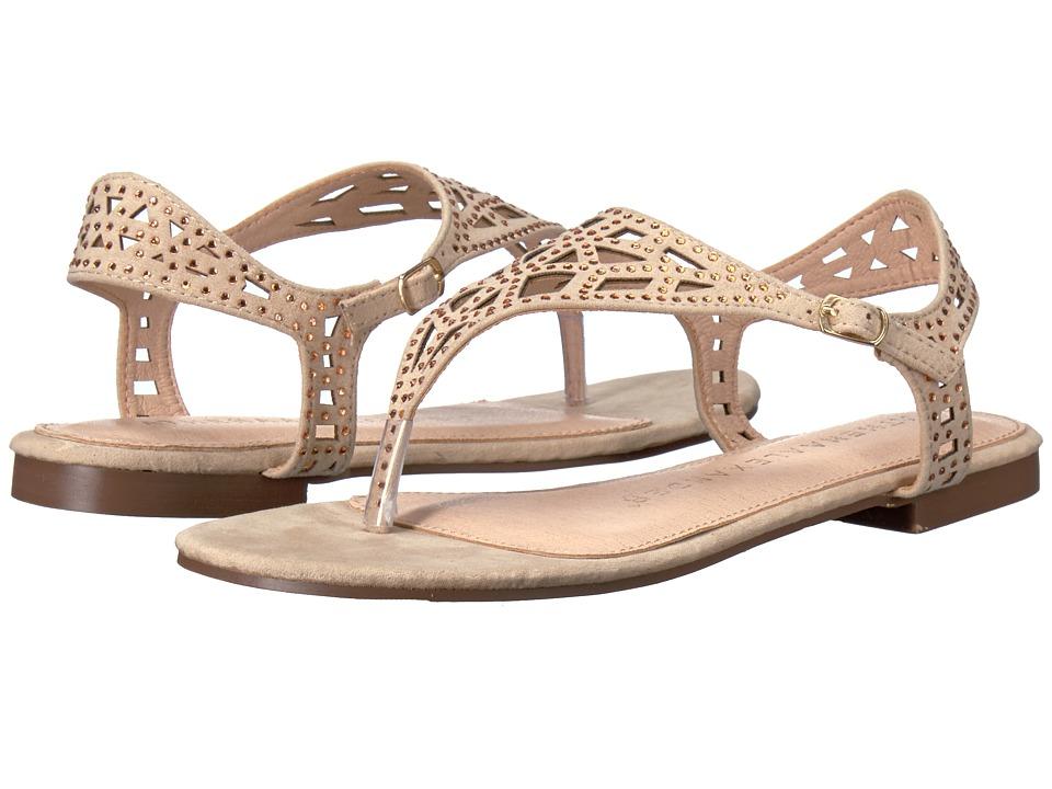 Athena Alexander - Saskia (Beige Suede) Women's Shoes