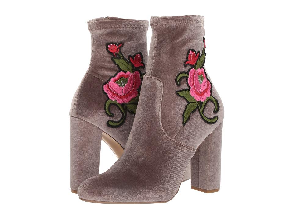 Steve Madden - Edition (Grey Velvet) Women's Boots
