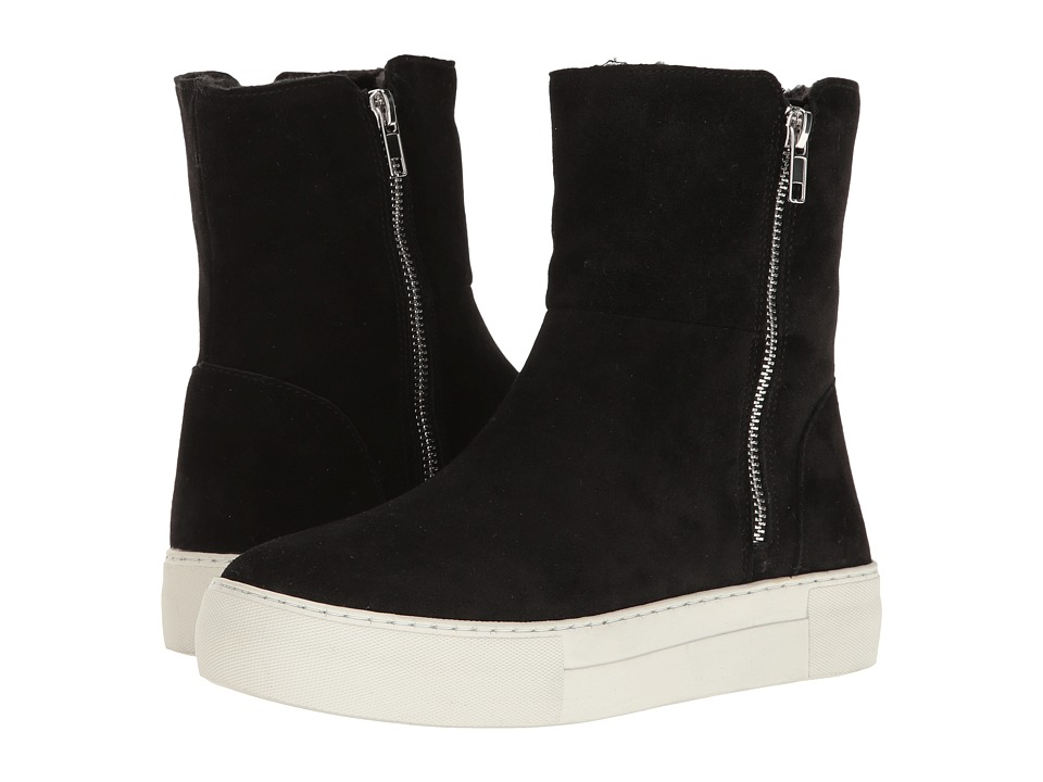 Steve Madden - Boost (Black Suede) Women's Shoes