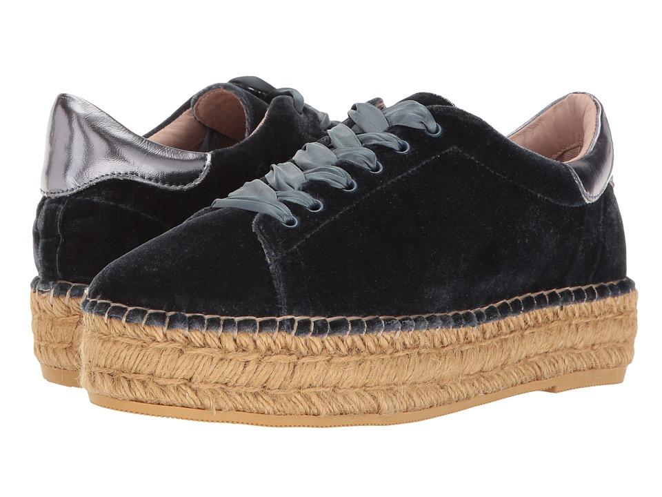Steven - Pace-V (Blue Velvet) Women's Shoes
