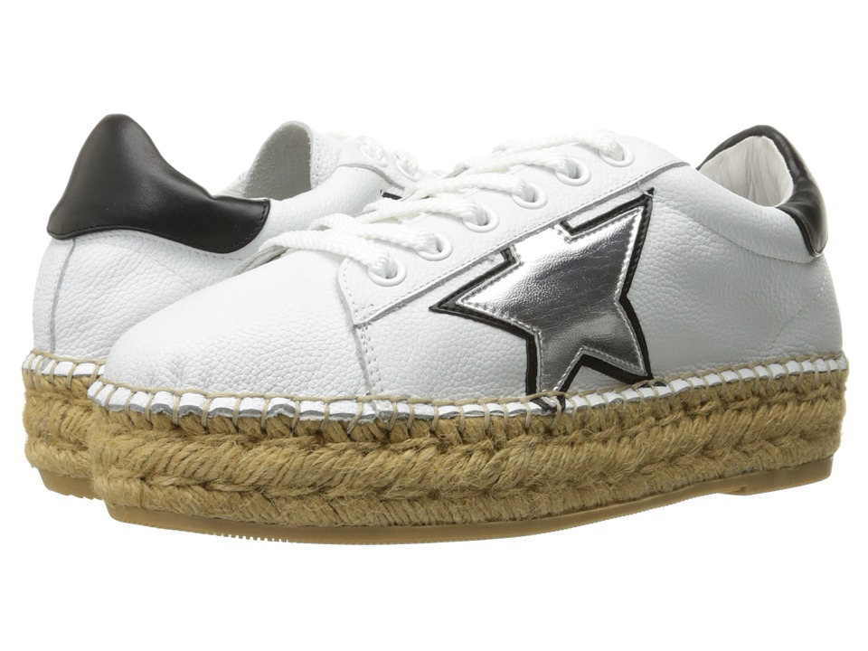 Steven - Phase (White/Silver) Women's Shoes