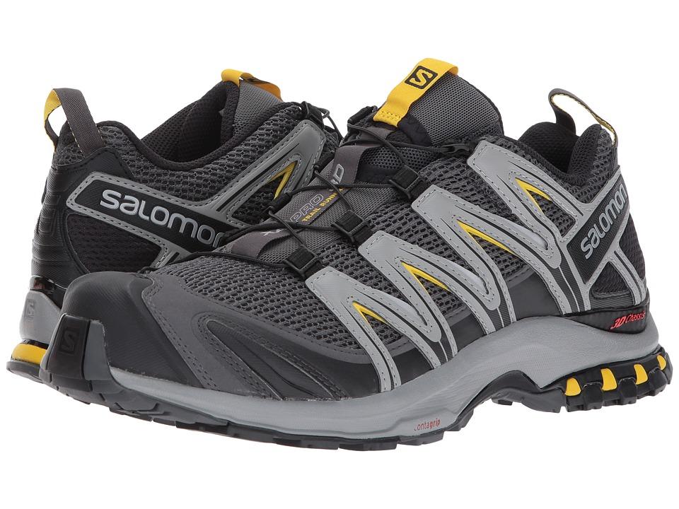 Salomon - XA Pro 3D (Magnet/Monument/Sulphur) Men's Shoes