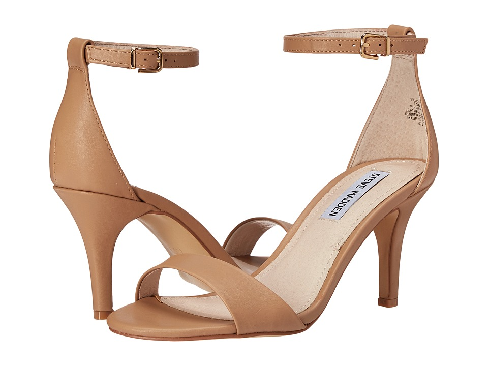 Steve Madden Exclusive Sillly Sandal (Natural) High Heels