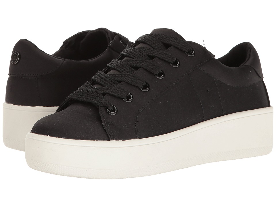 Steve Madden - Bertie-S (Black Satin) Women's Shoes