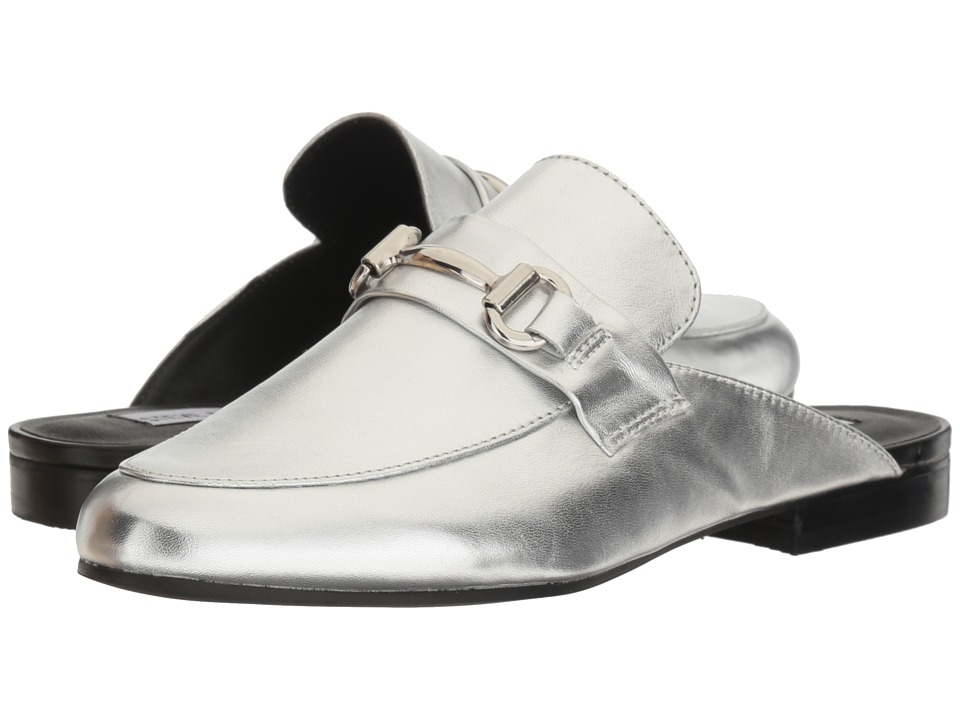 Steve Madden - Kandi (Silver Leather) Women's Shoes