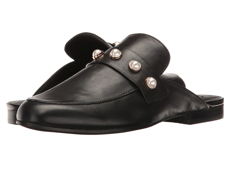 Steve Madden - Kandi-P (Black Leather) Women's Shoes