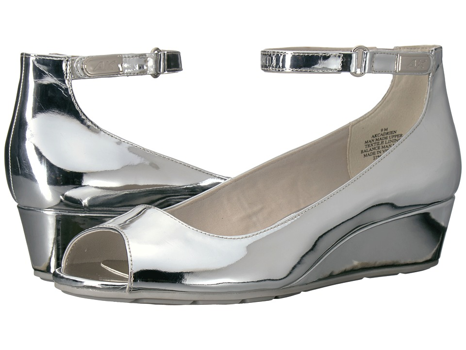 Anne Klein Cadrien (Silver Synthetic) Women