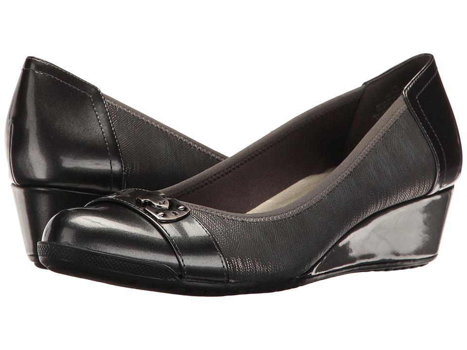 Anne Klein Carly (Pewter Multi Synthetic) Women