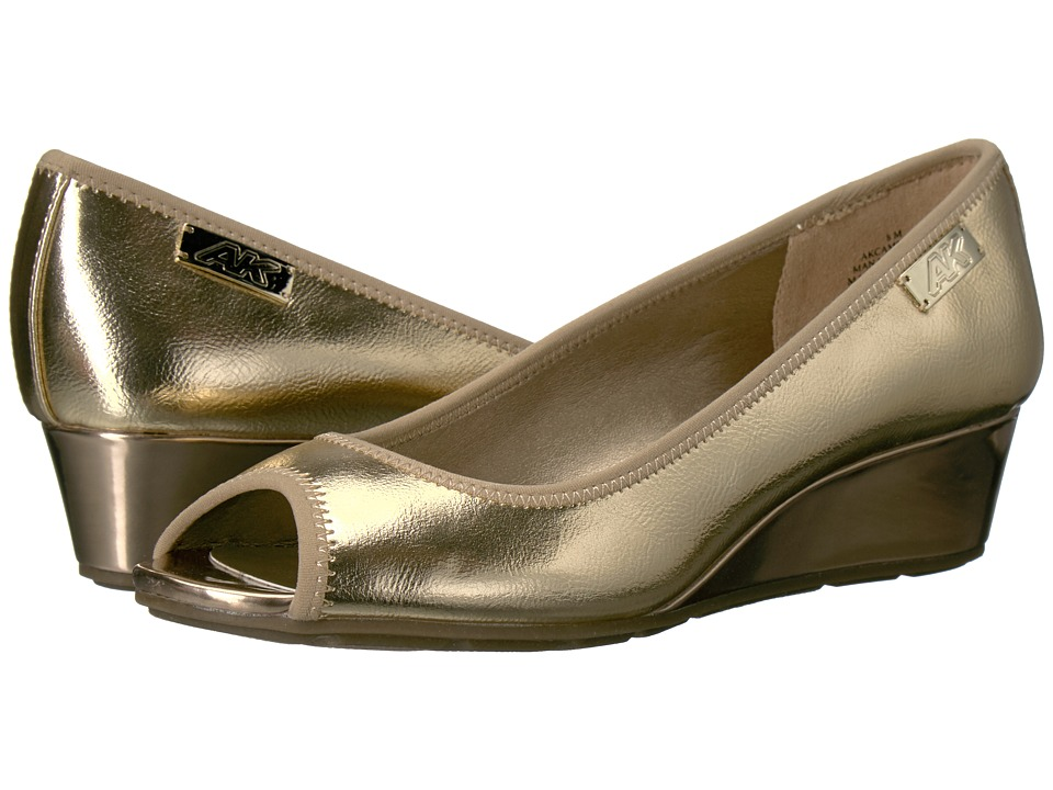 Anne Klein Camrynne (Gold/Gold Synthetic) Women