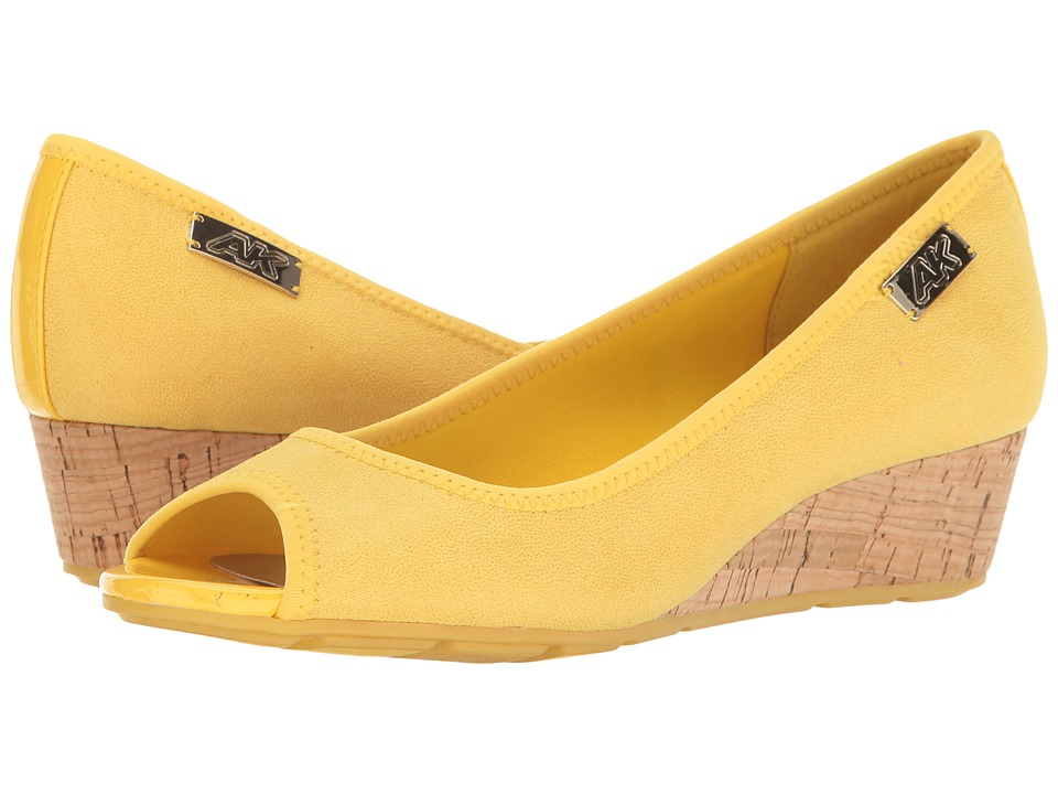 Anne Klein - Camrynne (Yellow Multi) Women's Wedge Shoes