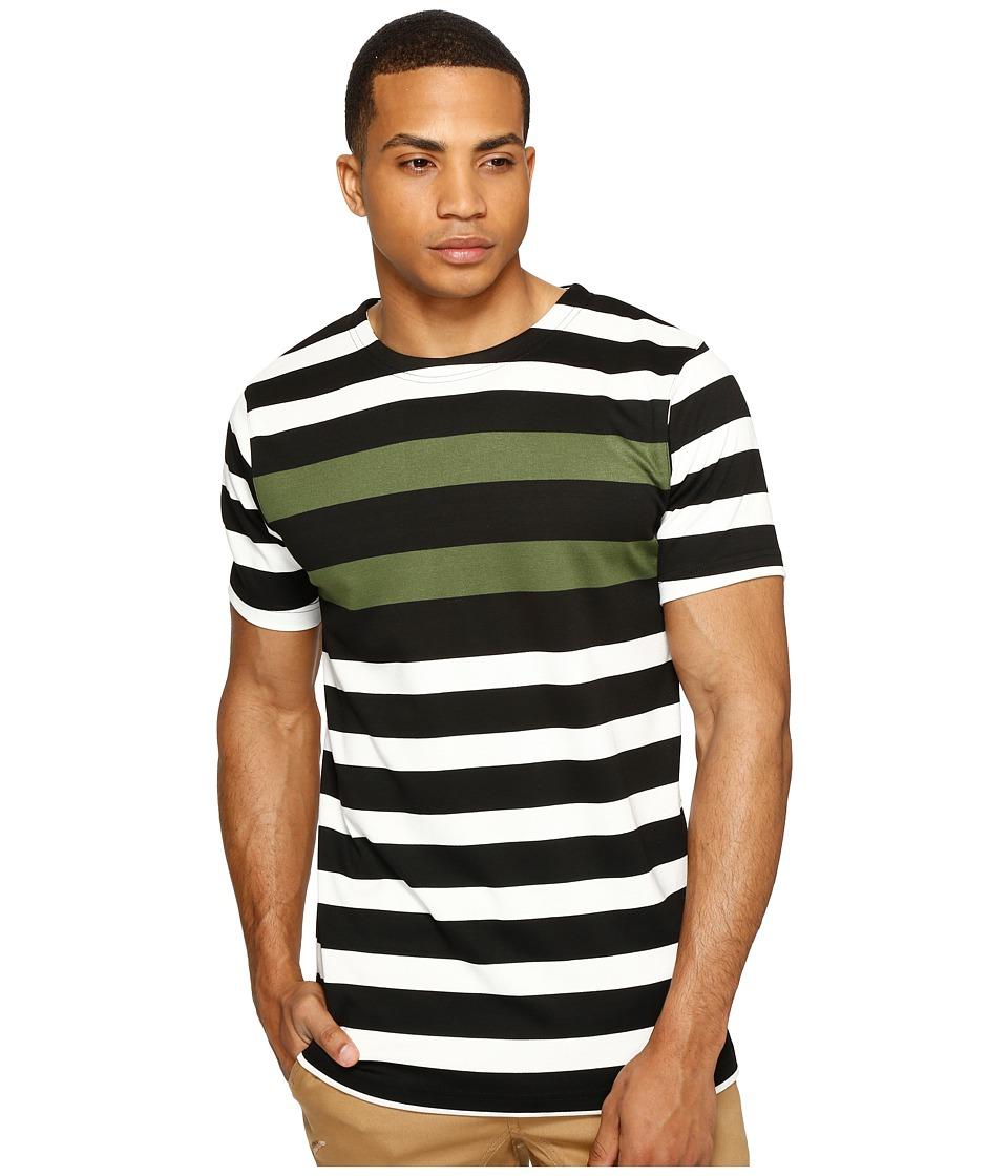 Publish - Vance - Striped Knit (Olive) Men's Clothing