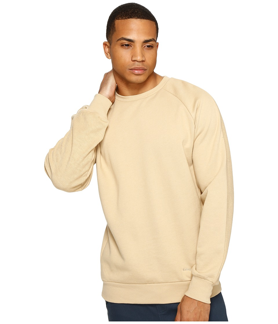Publish - Alford - Crew Neck Sweater (Tan) Men's Sweater
