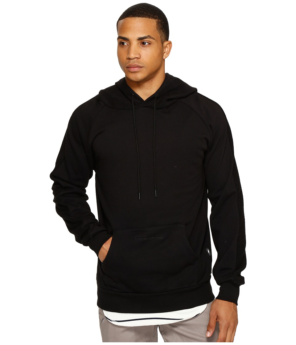 Publish - Bowen - Hooded Sweater (Black) Men's Sweater