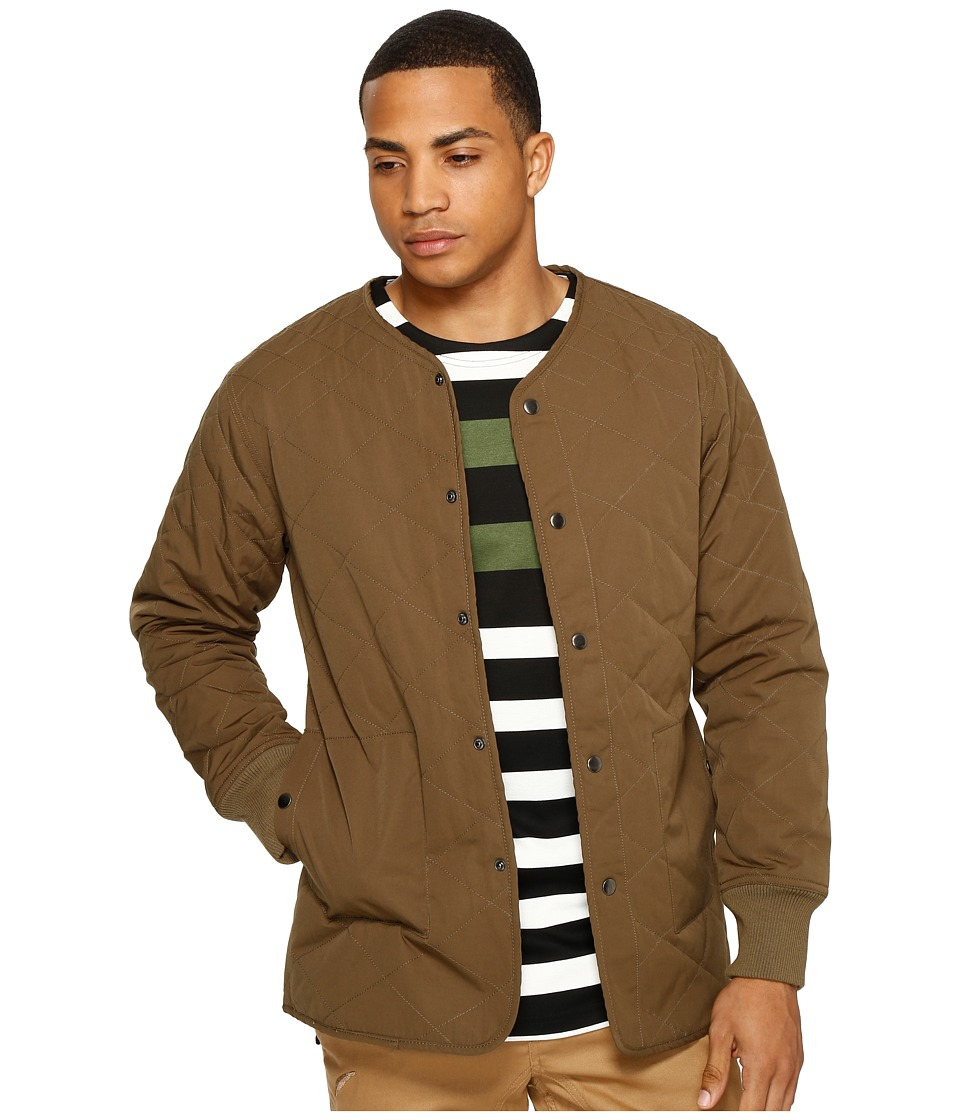 Publish - Landyn - Quilted Jacket (Olive) Men's Coat